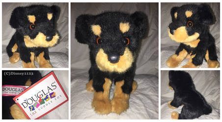 Douglas Floppy Sitting Pup- Rocky Rottweiler