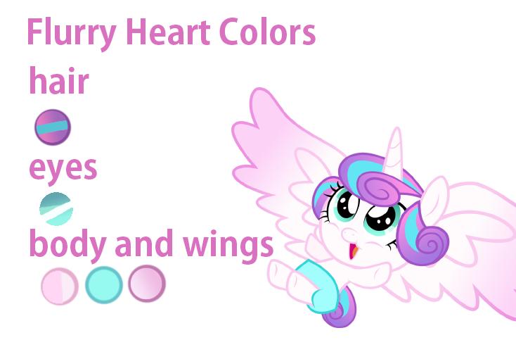 Flurry Heart Colors By Nsmah On Deviantart