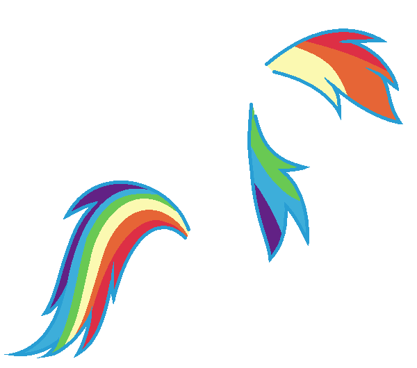 rainbow dash hair style rainbow dash mane and hair base by nsmah on deviantart 6341
