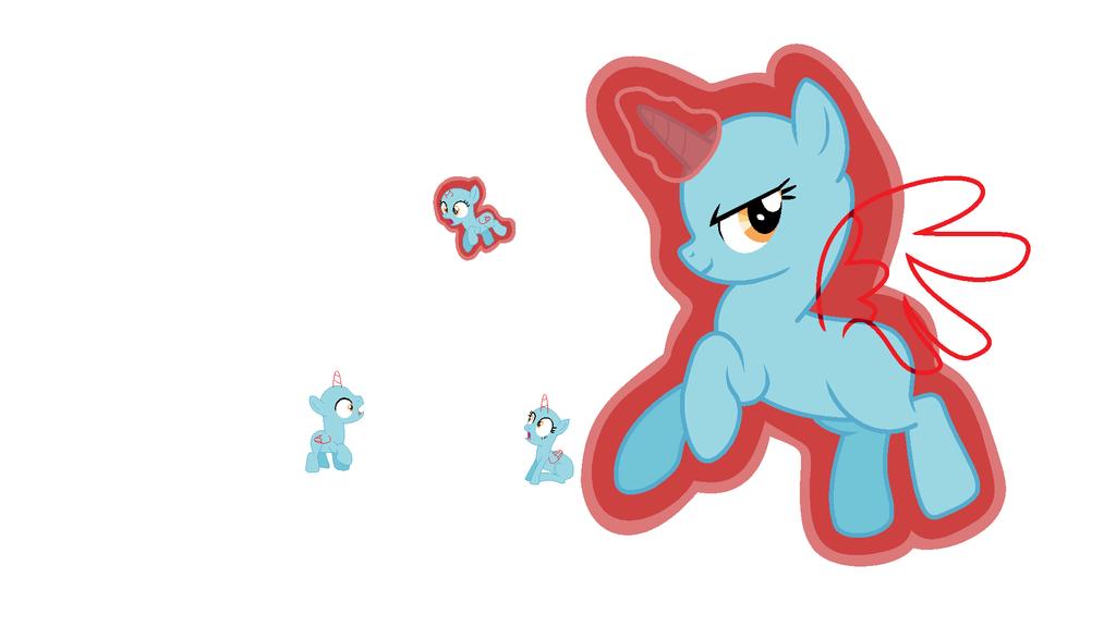 MLP Evil Pony Base by Nsmah on DeviantArt