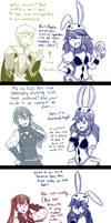 Awakening Trio vs. Bunny Lucina