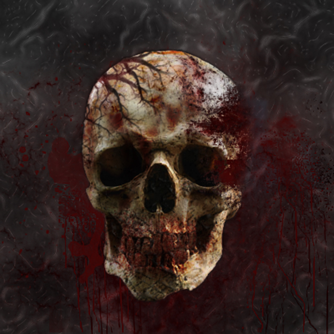 bloody skull wallpaper related - photo #5