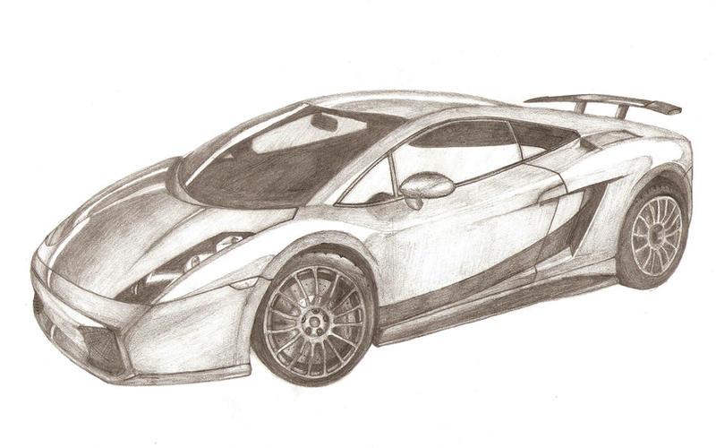 Lamborghini Sketch By Ilsebydtm