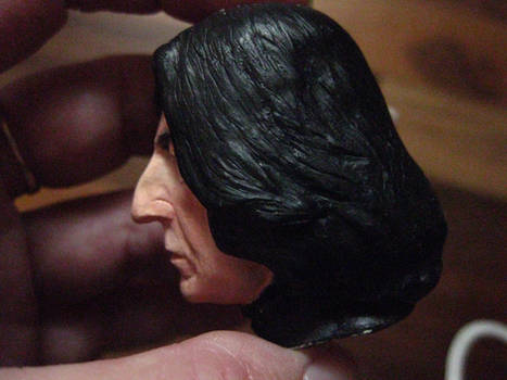 Severus Snape mini portrait painted 5