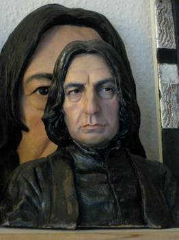 Severus Snape bust painted. nr.2 2012
