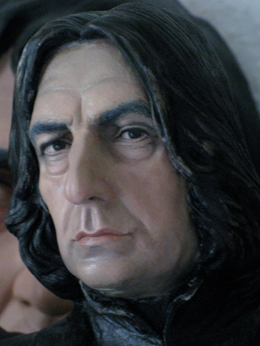 Severus snape bust painted. nr.2 2012 by MarieChristensen ...Young James Potter Scene