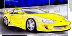 Toyota Supra Turbo by humphreylevine2014