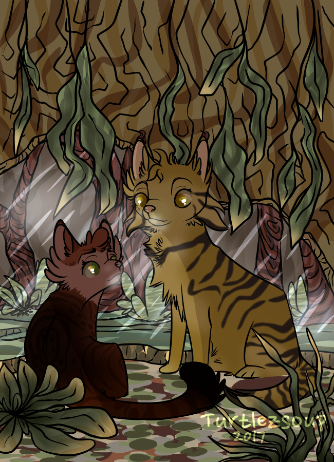 An Important Talk    Beanpaw and Applestar    DoW by TurtlezSoup
