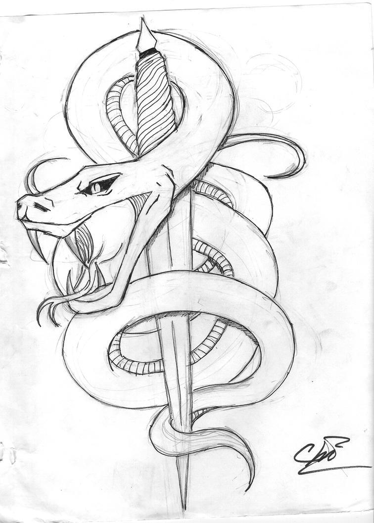 Best 25+ Cobra tattoo ideas on Pinterest | King cobra ... |Snake Tattoo Sketches