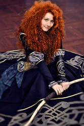 Merida - black dress