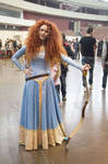 Merida blue dress