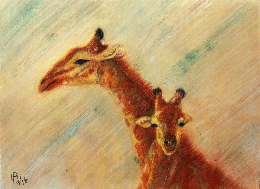 Giraffes by GianniMiquini