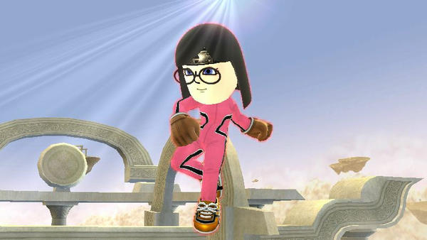 Me as a Mii Fighter by user15432