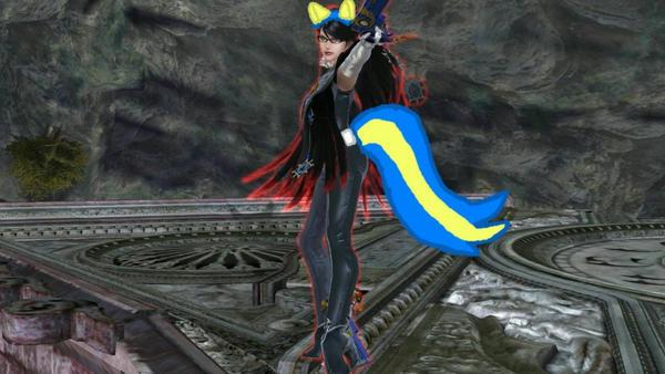 Bayonetta as a wondercolt by user15432