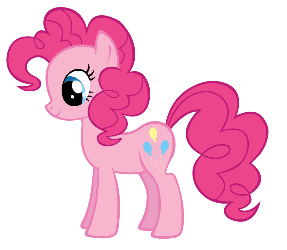 Pinkie Pie Vector By Durpy-d4mh2zo by user15432