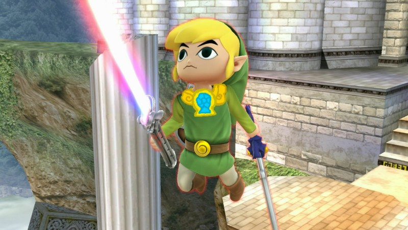 Toon Link with the element of laughter necklace by user15432