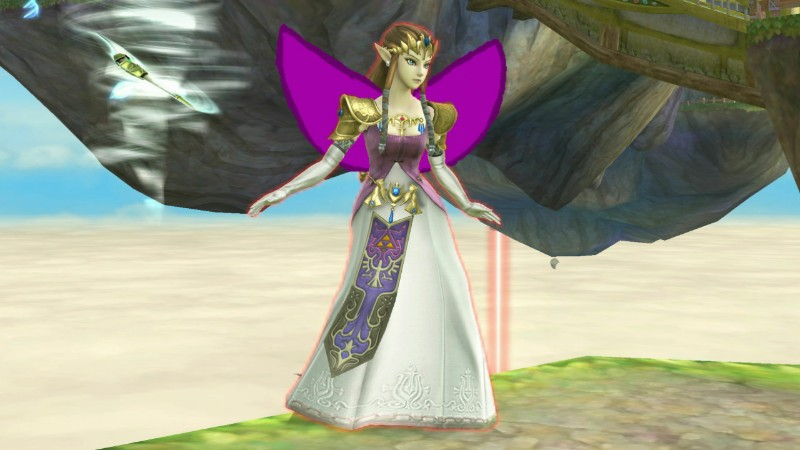 Princess Zelda with wings by user15432
