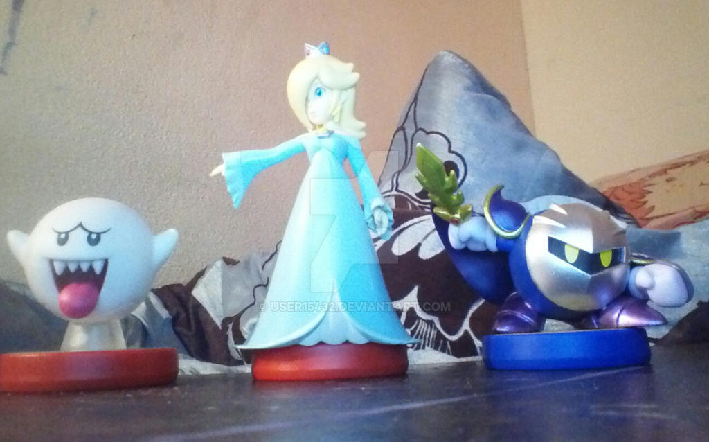 my 3 new amiibo figures by user15432