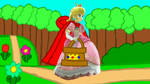 Little Red Riding Peach goes to grandma's house by user15432