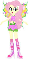Fluttershy as Flora
