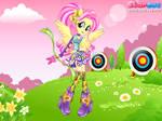 Fluttershy Archery Girl by user15432