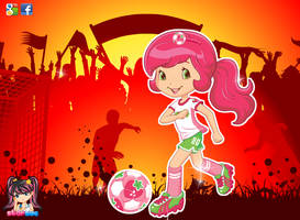 Strawberry Shortcake Sports Girl by user15432
