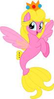 Princess Peach the seapony