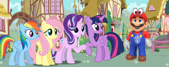 Ponies meets Cappy