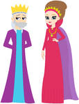King Oberon and Queen Titania EG style by user15432
