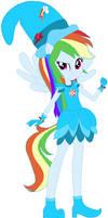Ojamajo Doremi Witch Rainbow Dash