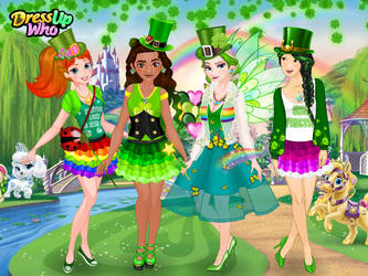 St. Patrick's Day Princesses by user15432