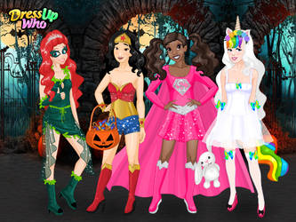 Halloween Disney Princesses by user15432