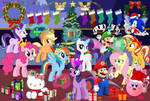 Merry Christmas Crossover by user15432