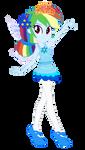 Sugarplum Fairy Rainbow Dash by user15432