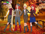 Sweater Weather Princesses by user15432