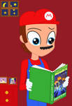 Mario reads Attack of the Jack-O'-Lanterns by user15432