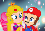 Mario and Dreamix Peach by user15432