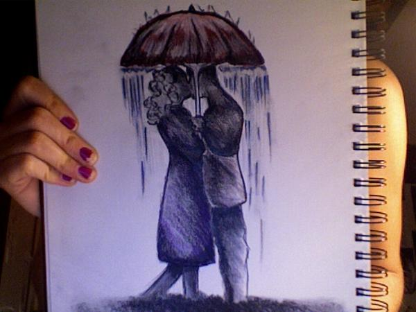 Kiss me in the rain by L-Knight on DeviantArt