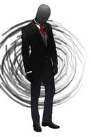 Gentleman - Slenderman by RedHead-Skunk