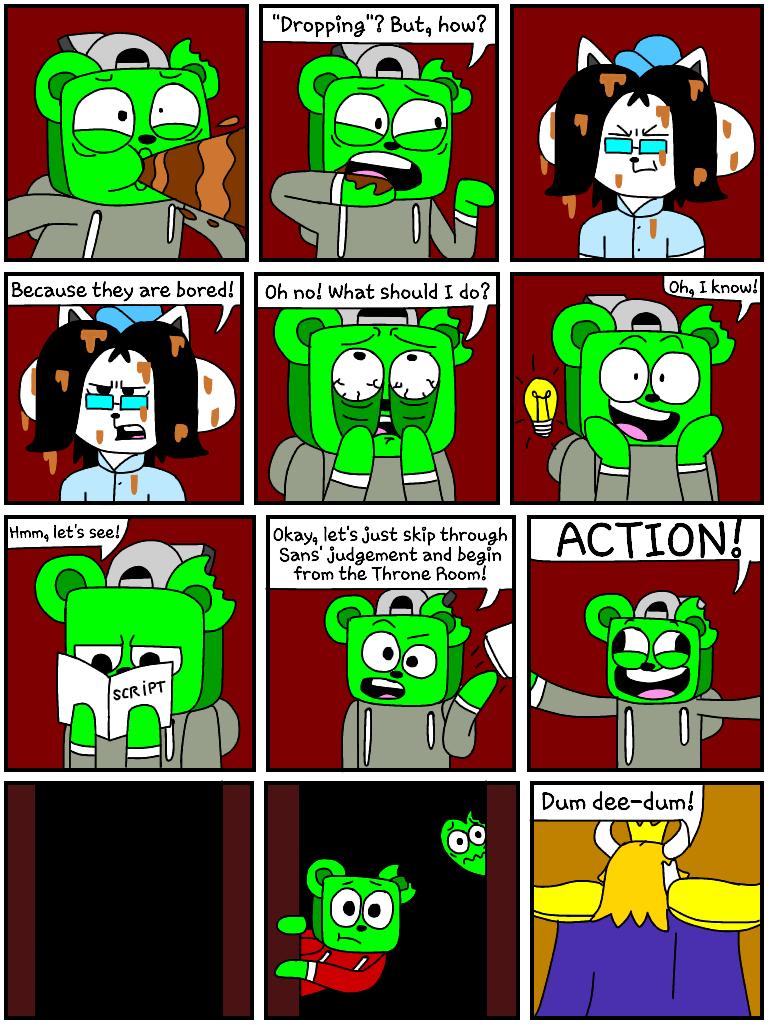 GummyTale (Undertale) pt  8 4 by GummyCraftArt on DeviantArt