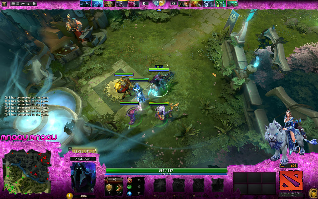 interface dota 2 overlay for twitch streaming by mnaau on deviantart