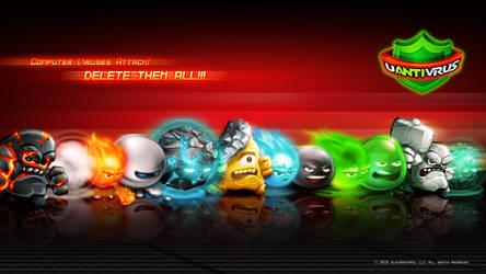 uAntivirus GameArt Wallpaper by GucalovPavel