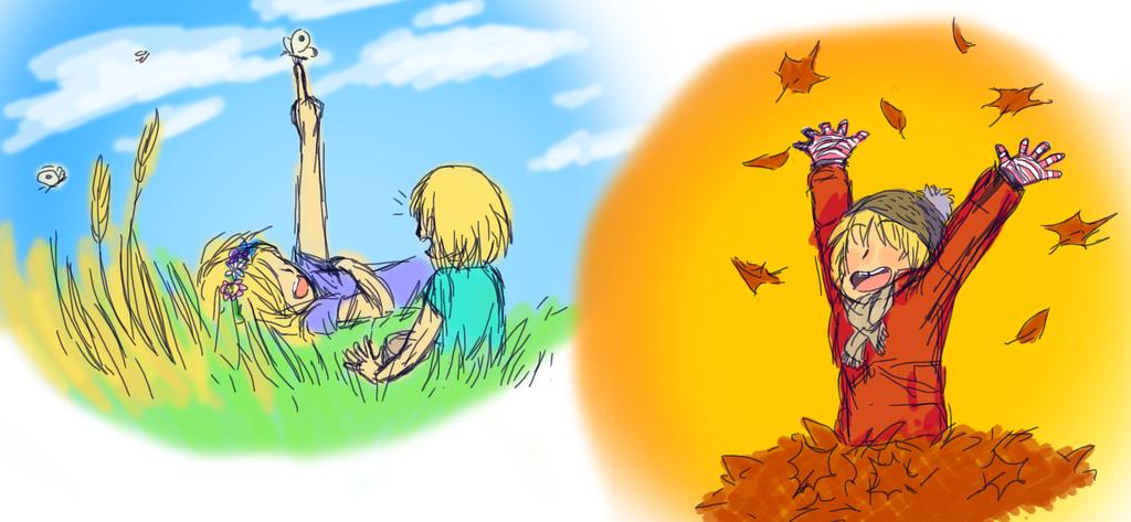 Childhood Nostalgia by chibi1art