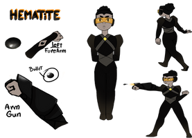 Hematite reference sheet by Geek-Antic