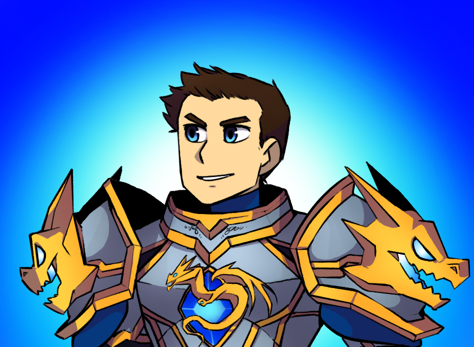 Generic lookin sir knight by chibi1art