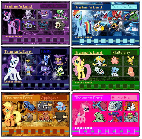 MLP Trainer Cards by Psyko6669