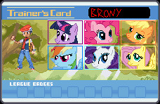 Brony Trainer Card by Psyko6669