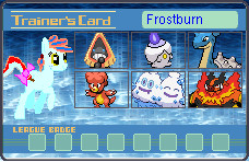 Frostburn Trainer Card by PerfectZanderSanchez