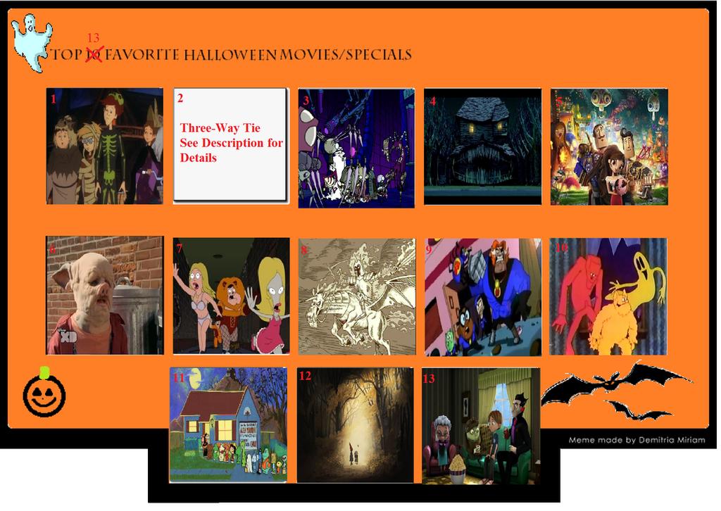 Top 13 Best Halloween Specials by PerfectZanderSanchez on DeviantArt