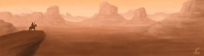 Desert by NorethNo